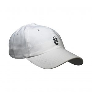 SH Monogram Dad Hat – White